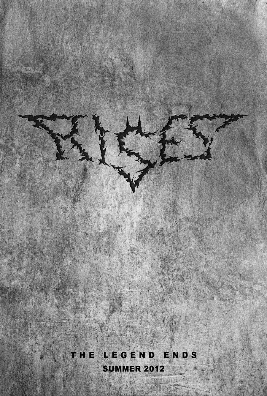 dark knight rises chalk logo wwwpixsharkcom images