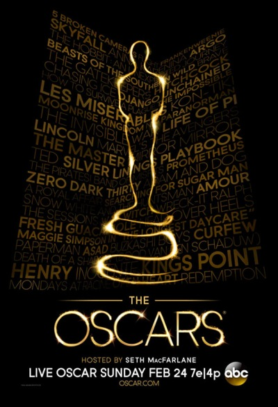 85th Oscars poster