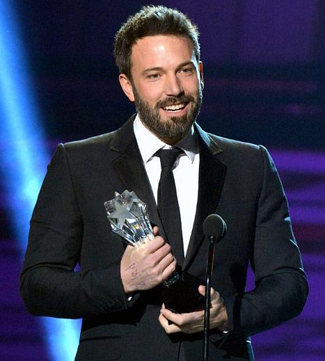 Affleck Critics Choice Award