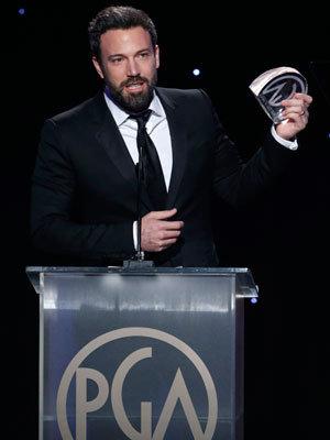 Affleck PGA Award