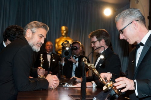 Clooney engraving
