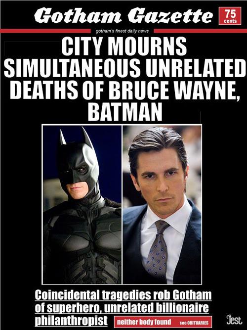 Gotham Gazzette funny