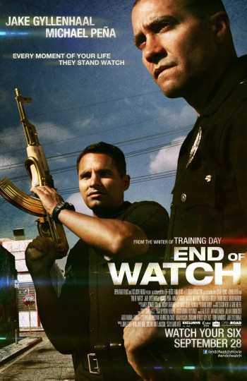 poster- END OF WATCH