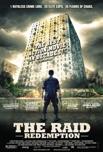 poster- THE RAID