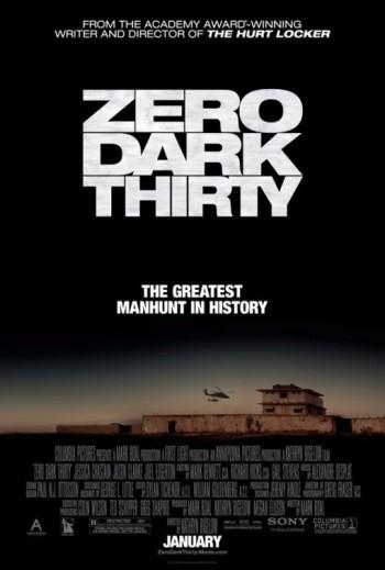 poster- ZERO DARK THIRTY