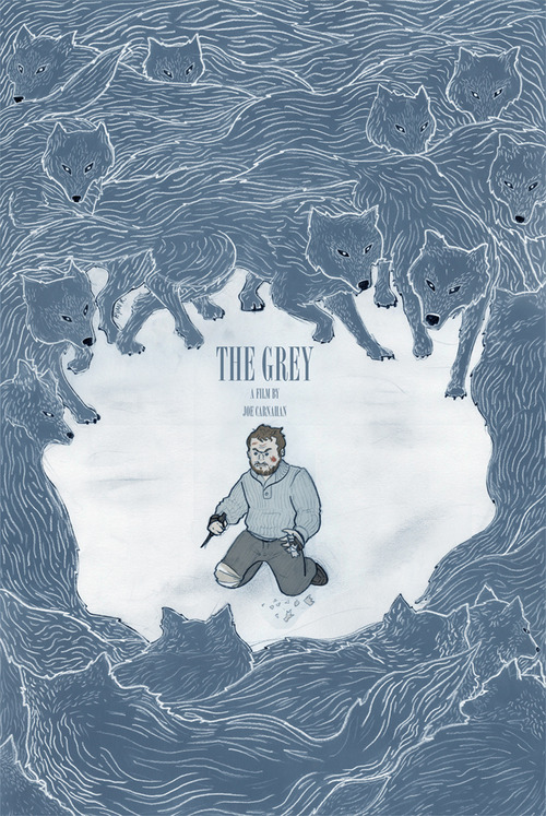 The Grey alternate poster