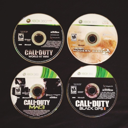 Call of Duty discs