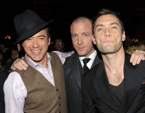 jude law robert downey guy ritchie