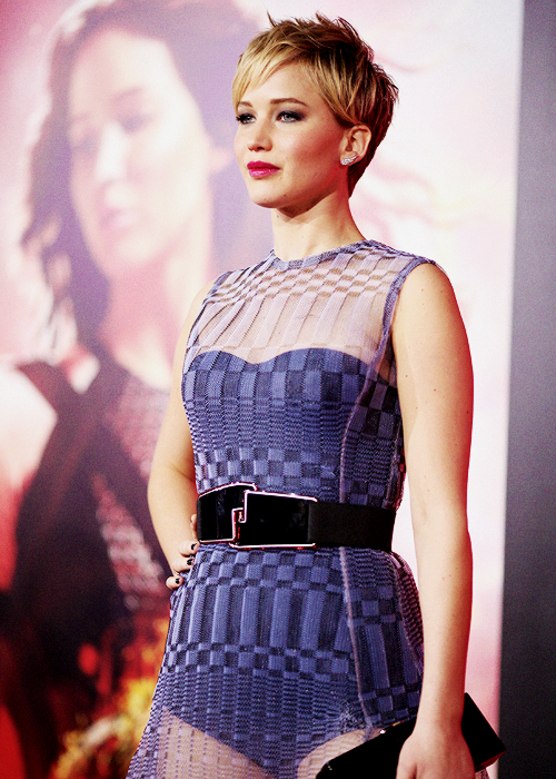 Jennifer Lawrence Catching Fire premiere 2