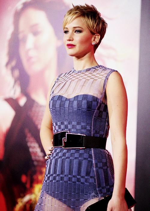 Jennifer Lawrence Catching Fire premiere 2
