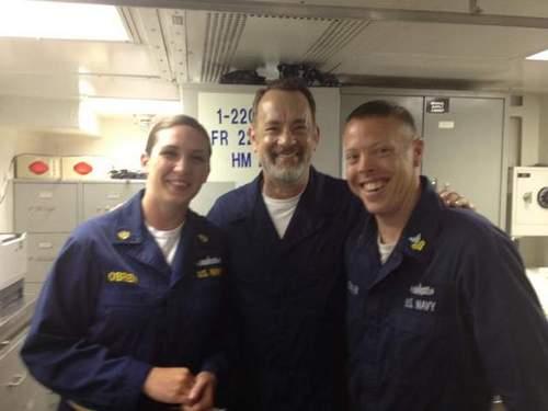 Captain Phillips - real sailors