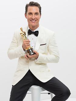 McConaughey sits