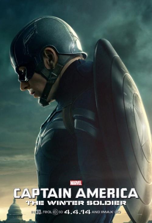 Cap America 2 poster