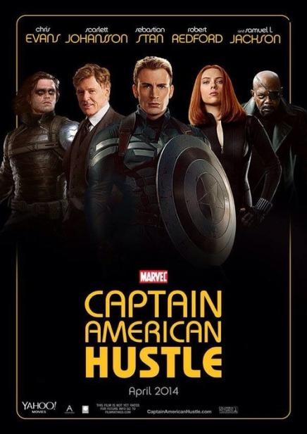 Captain American Hustle
