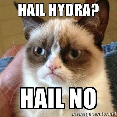 HAIL HYDRA GRUMPY CAT