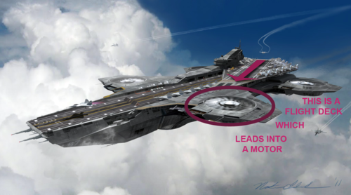Helicarrier design flaw