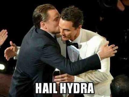 HYDRA DiCaprio McConaughey