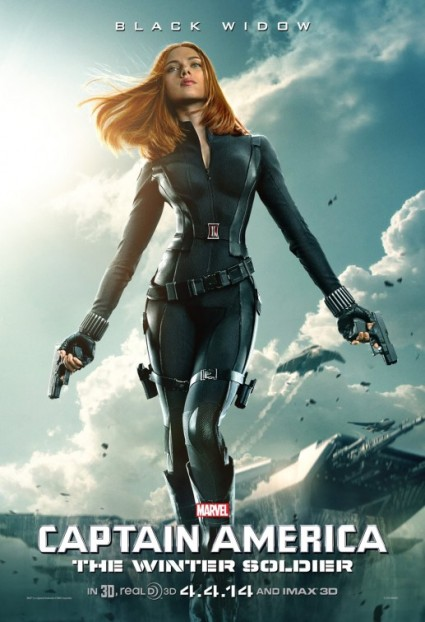 Stupid Black Widow Poster