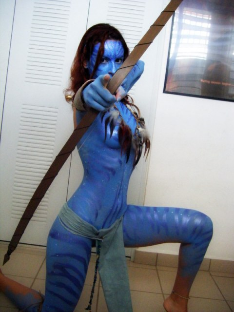 Neytiri cosplay