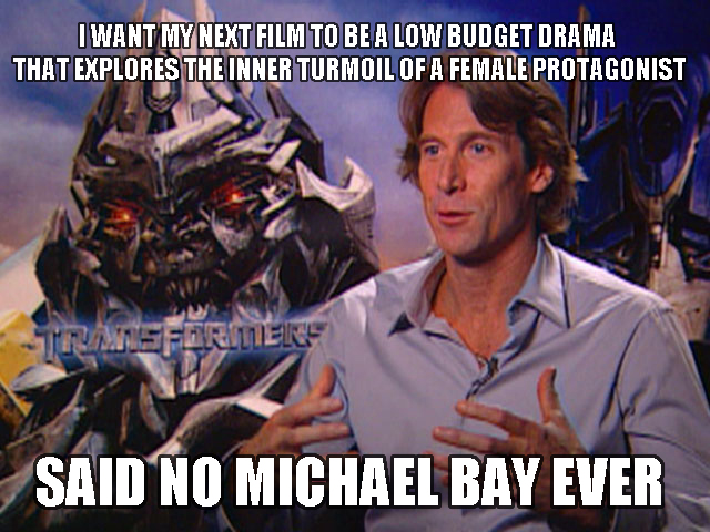 Michael Bay meme 2