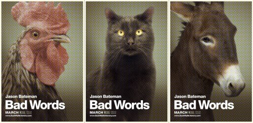 Bad Words animal posters