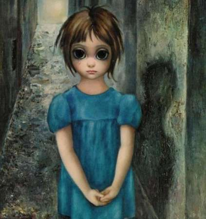 Big Eyes Keane art