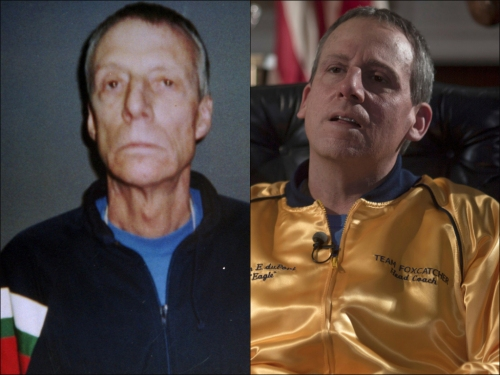 Foxcatcher du Pont comparison