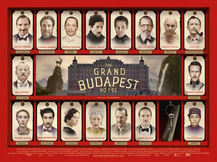 Grand Budapest characters