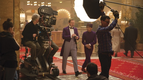 Grand Budapest cinematography