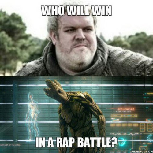 Hodor Groot rap battle