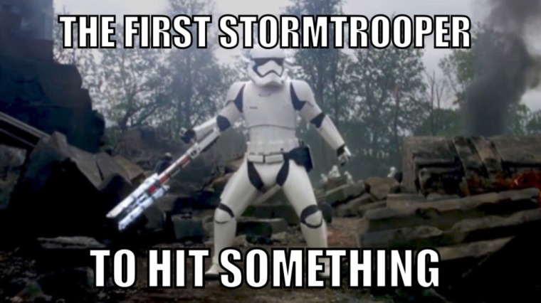 first stormtrooper