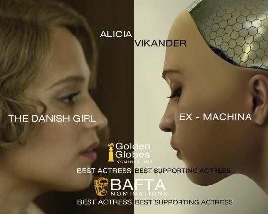 Vikander double nominee