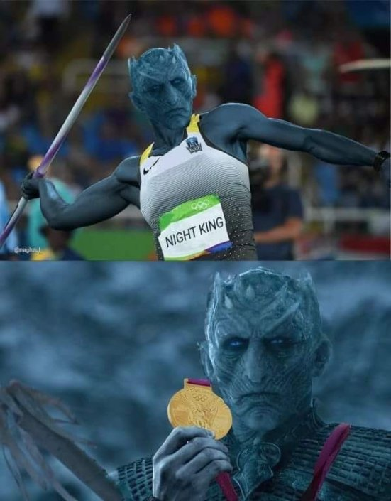 Night King olympian